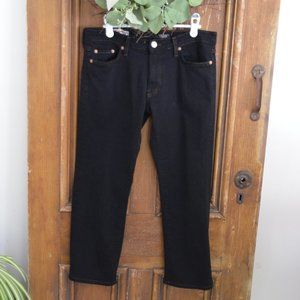 2/$20 Red Engine Black  Low Rise Cropped Jeans